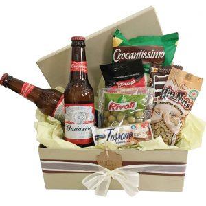 caixa com cervejas